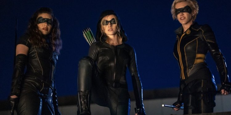 Green Arrow and The Canaries,