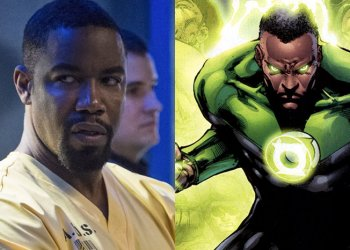 Lanterna Verde ator de Arrow