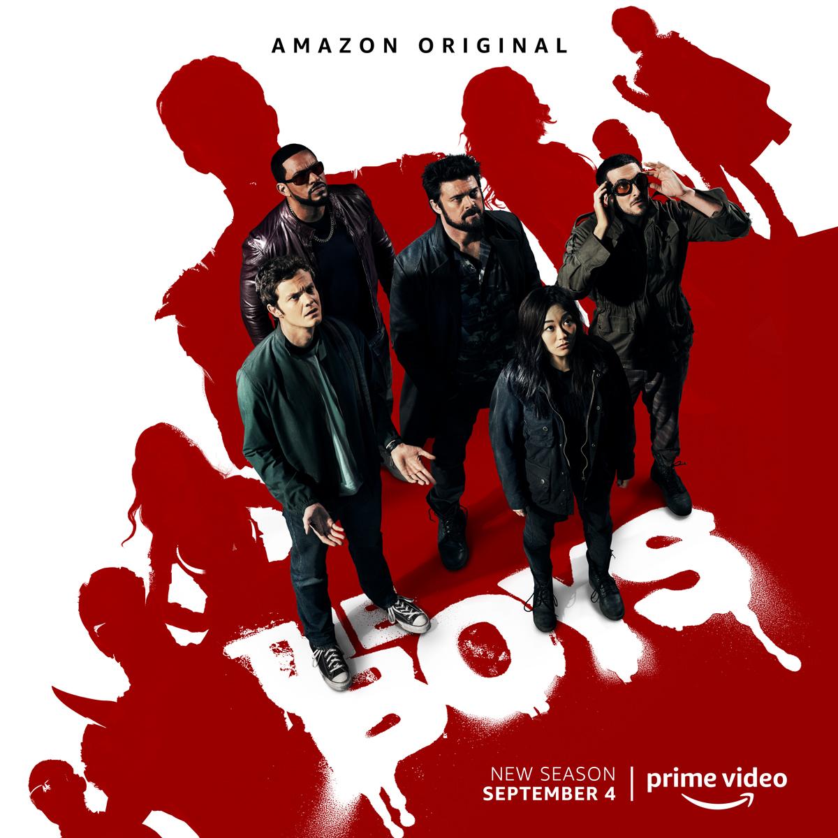 The Boys 2ª temporada no Amazon Prime Video