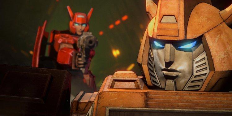 Transformers- War For Cybertron Trilogy na Netflix