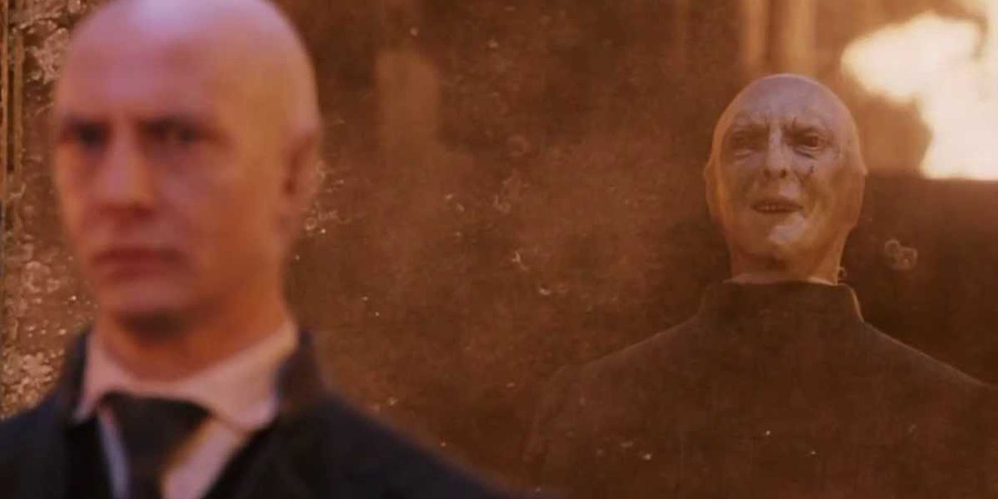 Richard BremmereIan Hart como Lord Voldemort