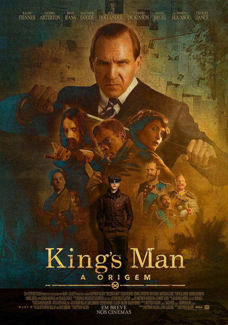 cartaz de King's Man: A Origem