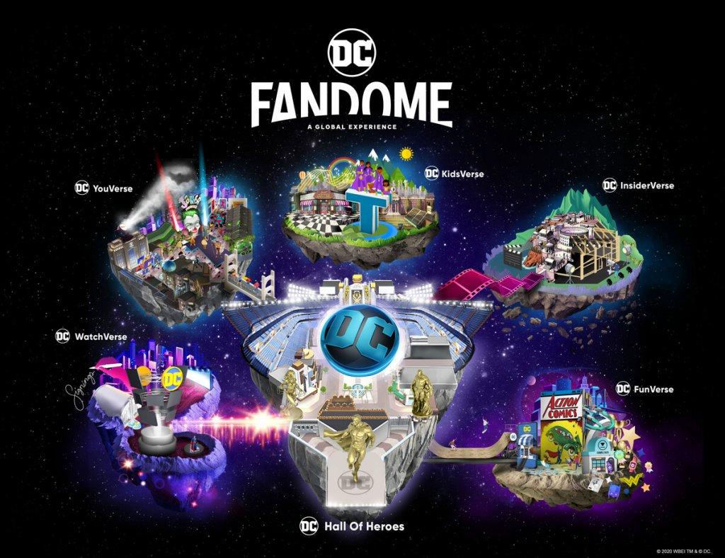 Explorando o FanDome do Arrowverse e DC Comics