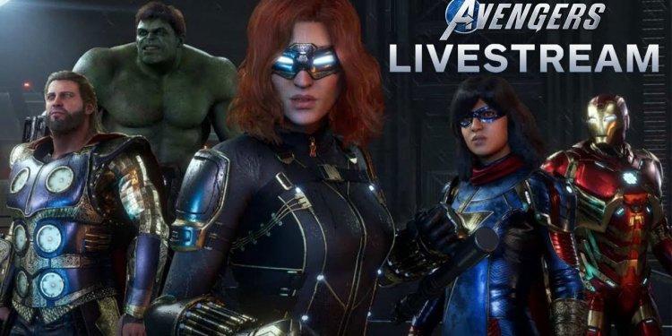 Marvel's Avengers modo cooperativo