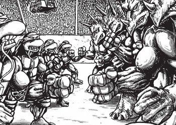 Tartarugas Ninja Pipoca & Nanquim