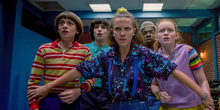 Stranger Things série da Netflix