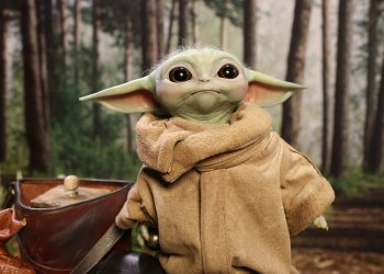 Action Figure do Baby Yoda