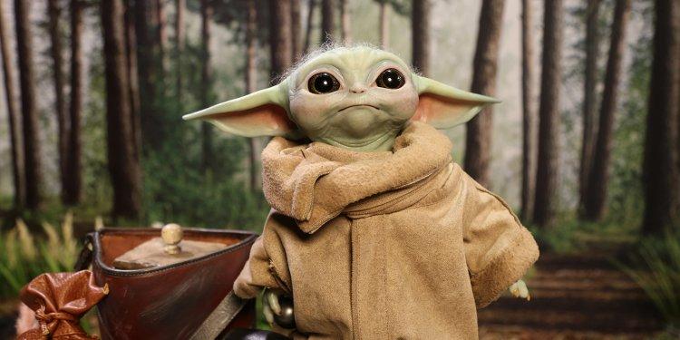 Action Figure do Baby Yoda