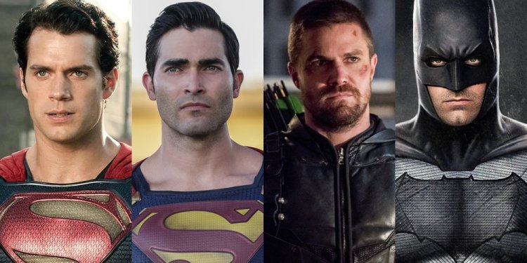 Superman e Batman do Arrowverse no DCEU