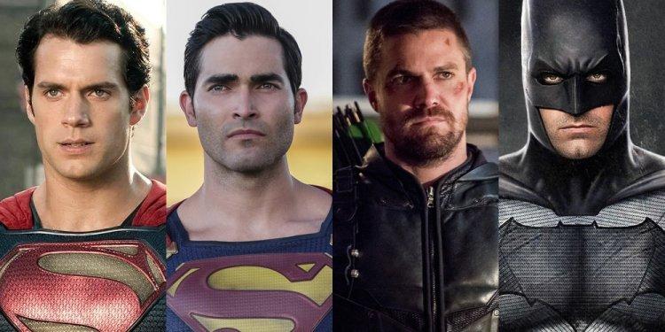 Superman e Batman do Arrowverse no DCEU