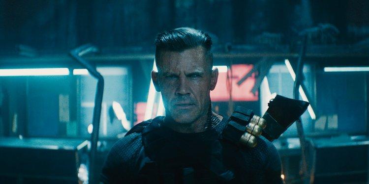Josh Brolin é Cable em Deadpool 2