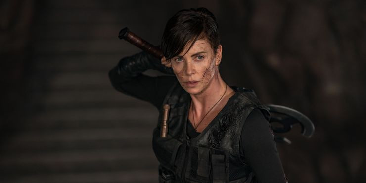 Charlize Theron em The Old Guard