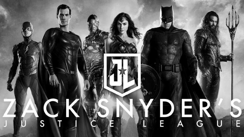 Poster da versão de Zack Snyder para liga da justiça