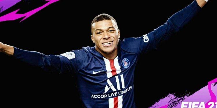 FIFA 21   Mbappé, craque do PSG, estampa a capa da nova edição do game