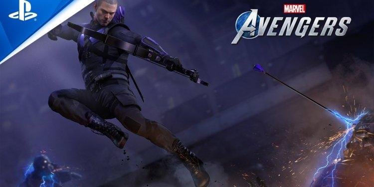 Marvel's Avengers   Gavião Arqueiro estará presente