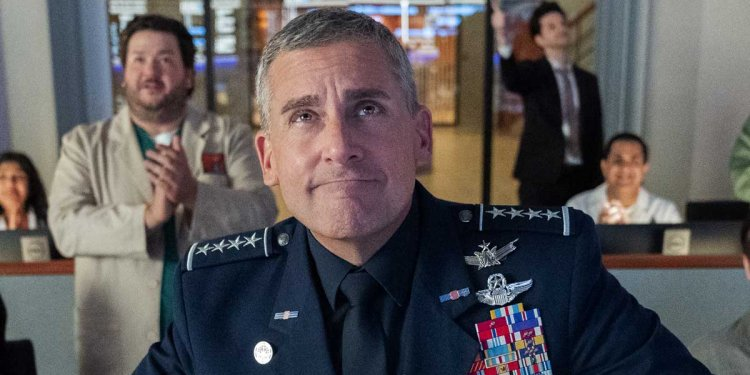 Space Force   Netflix renova série