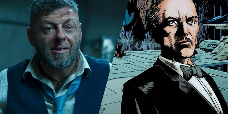 Andy Serkis será Alfred em The Batman
