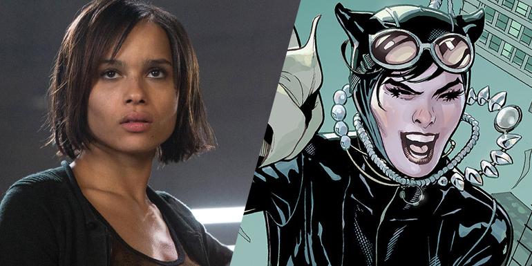 Zoë Kravitz será Mulher-gato em The Batman