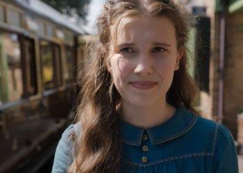 Enola Holmes com Millie Bobby Brown da Netflix