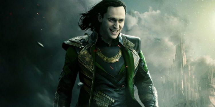 Vilão Loki da Marvel e Vingadores