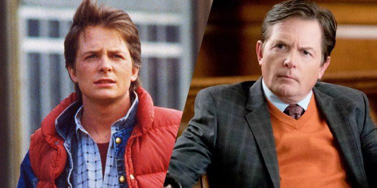 Michael J. Fox estrelou como Marty McFly em De Volta para o Futuro
