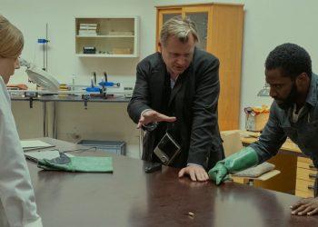 Bastidores do filme TENET de Christopher Nolan