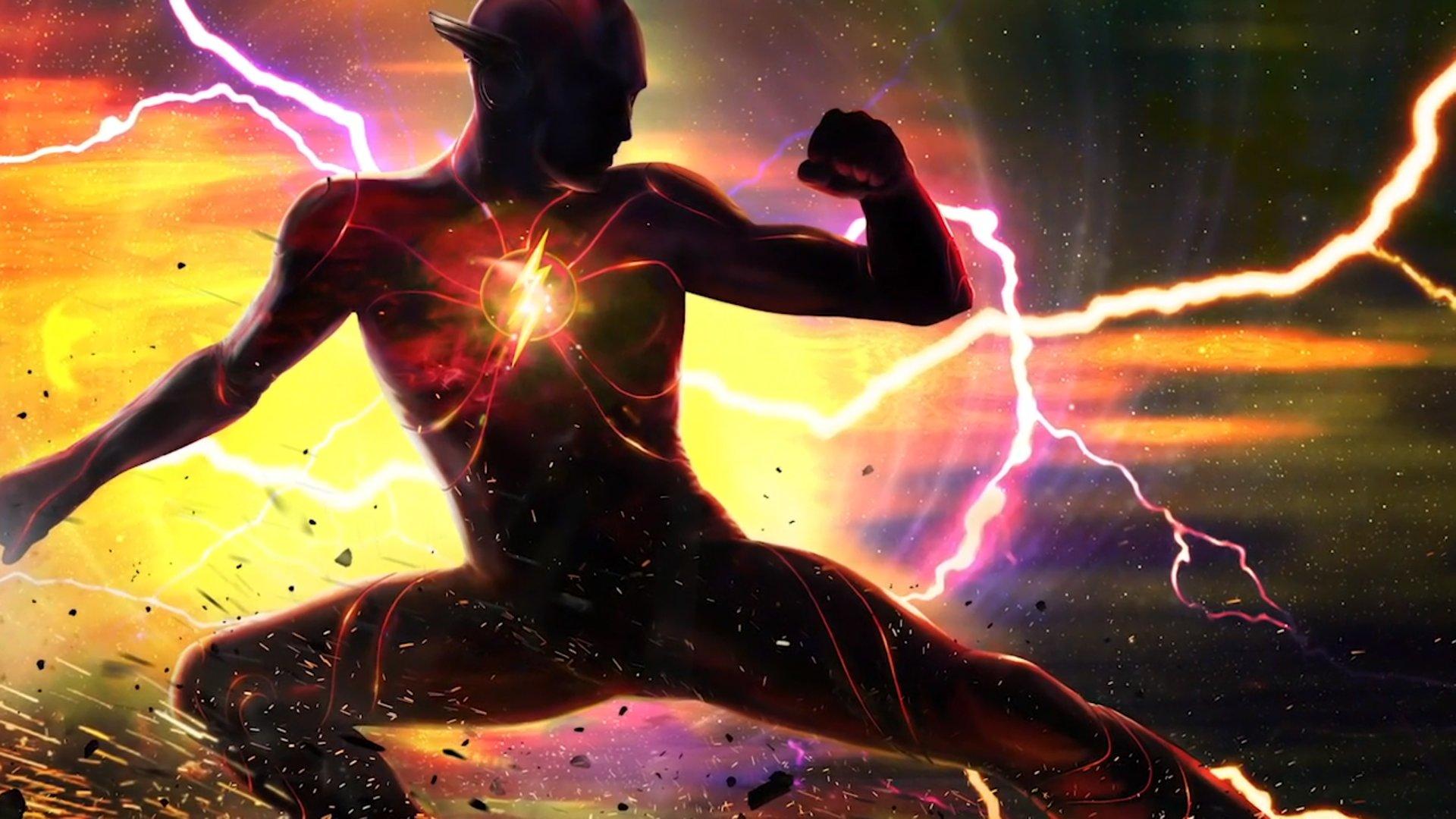 The Flash filme traje