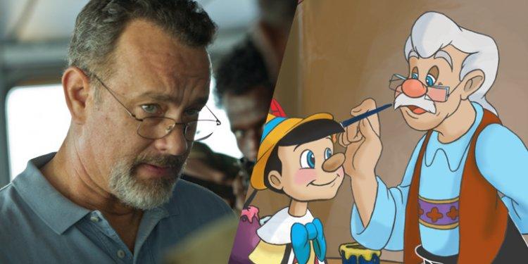 Tom Hanks será Geppetto em Pinóquio