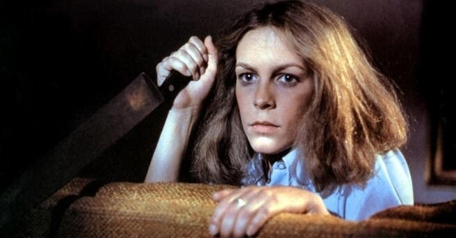 Jamie Lee Curtis em Halloween - A noite do terror