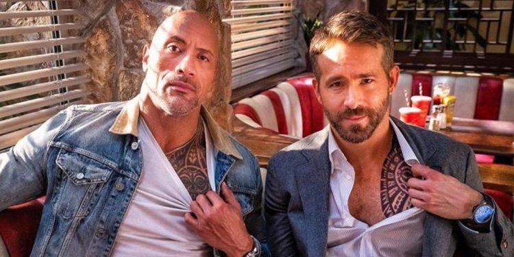 Dwayne Johnson e Ryan Reynolds são os atores mais bem pagos