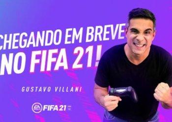 Gustavo Villani substitui Tiago Leifert