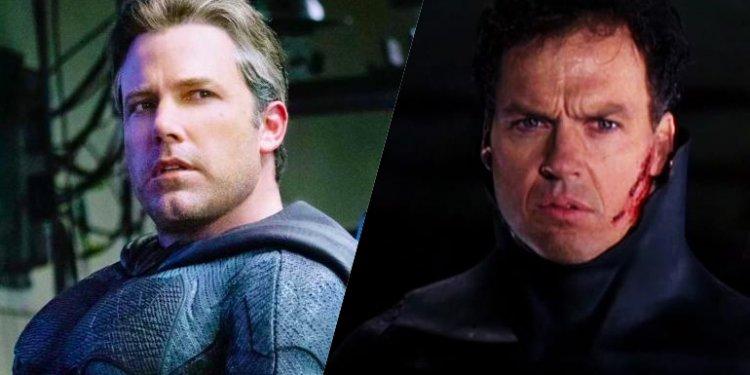 Ben Affleck e Michael Keaton irão reprisar o papel de Batman