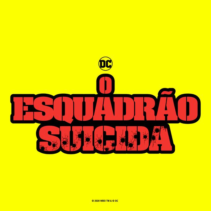 O Esquadrão Suicida   James Gunn apresenta a logo