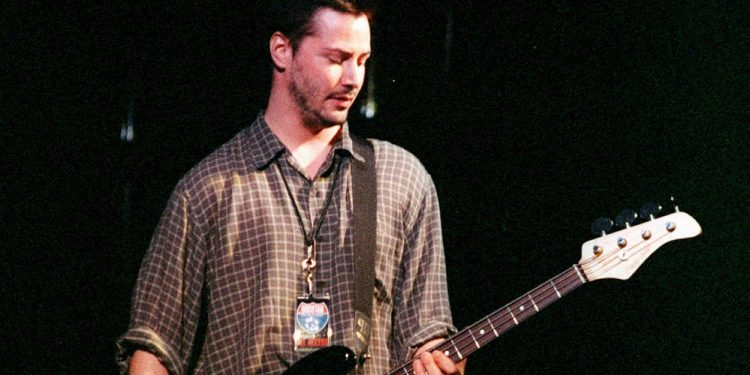 Keanu Reeves em banda