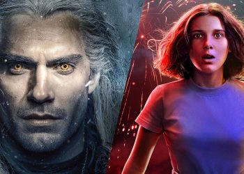 The Witcher e Stranger Things séries