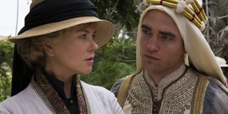 Queen of the Desert (2017) robert pattinson