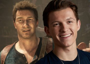 Uncharted com Tom Holland