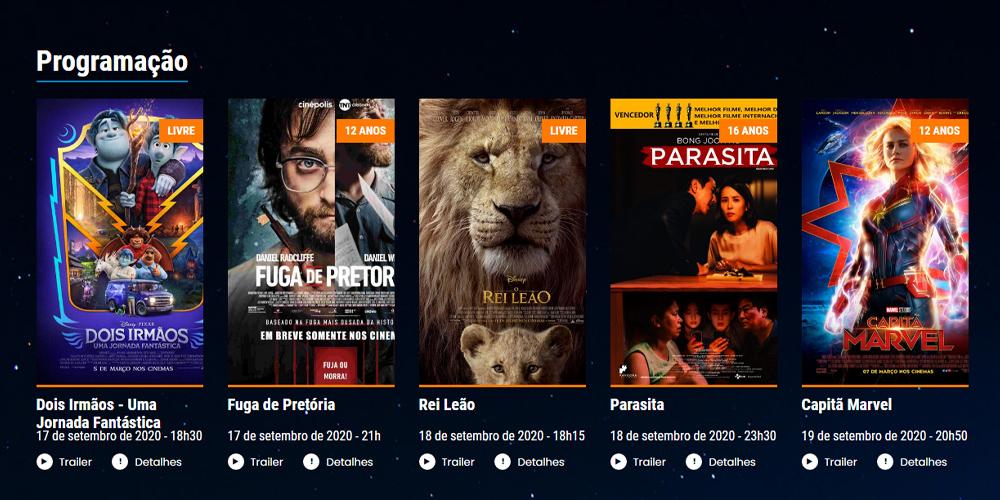 Parasita e outros sucessos no Alpha Cine