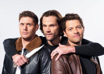 Jensen, Jared e Misha da série Supernatural