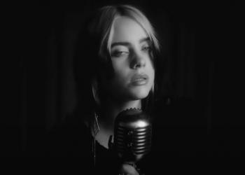 "Billie Eilish lança clipe de ""No Time To Die"""