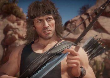 Mortal Kombat 11 apresenta os golpes e habilidades de Rambo