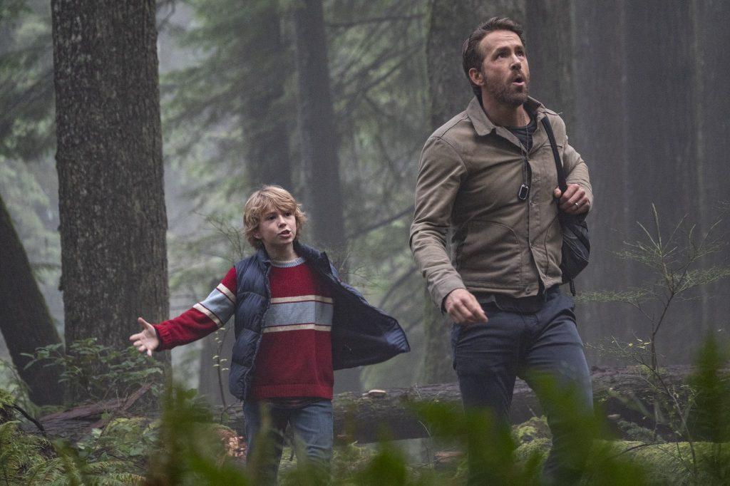 The Adam Project com Ryan Reynolds para Netflix