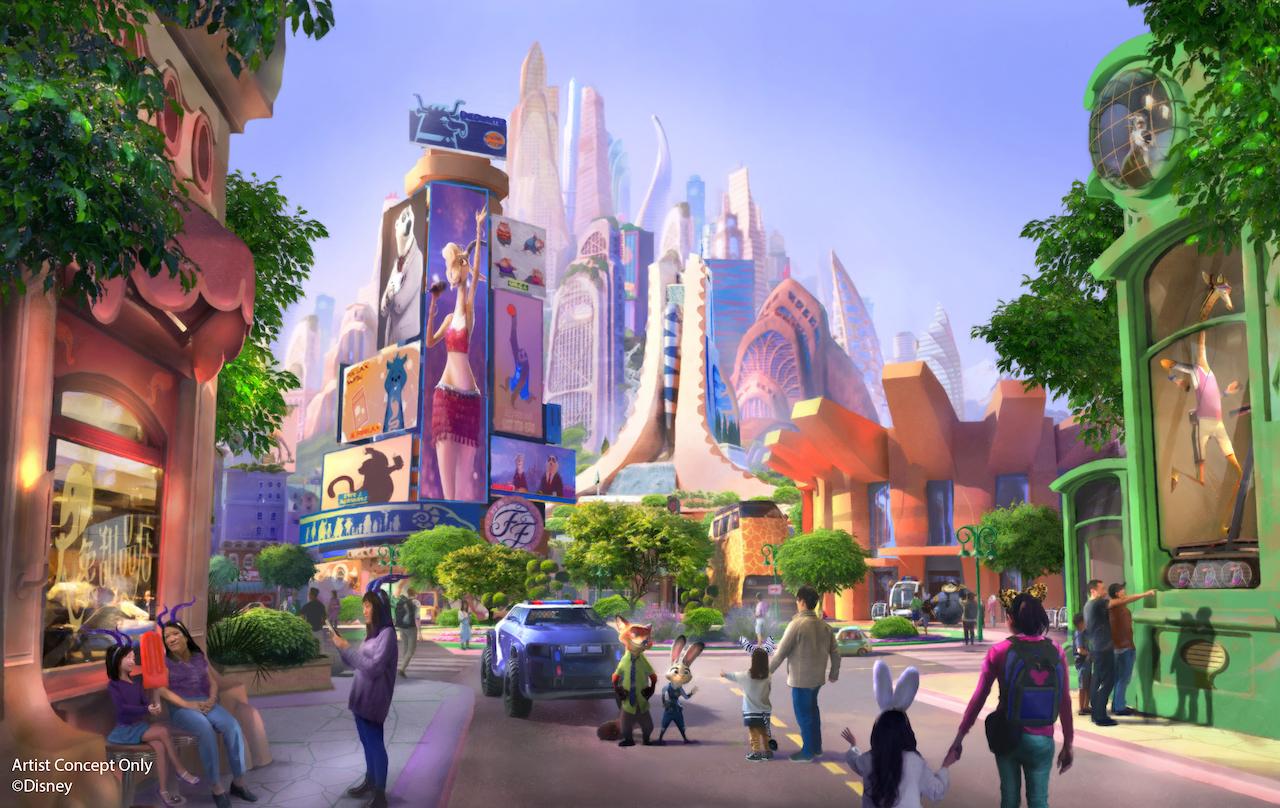 Zootopia parque Disney