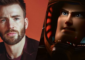 Chris Evans será Buzz Lightyear