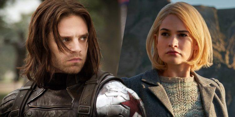 Sebastian Stan e Lily James Cast