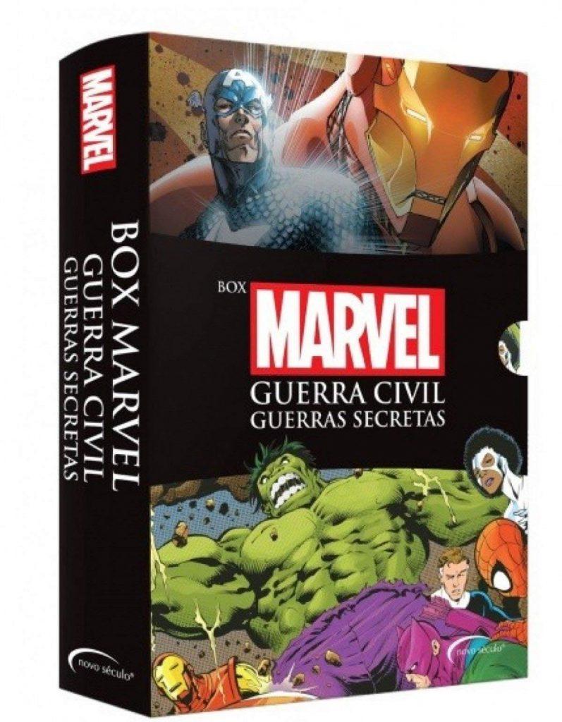 Box Marvel: Guerra Civil e Guerra Secreta