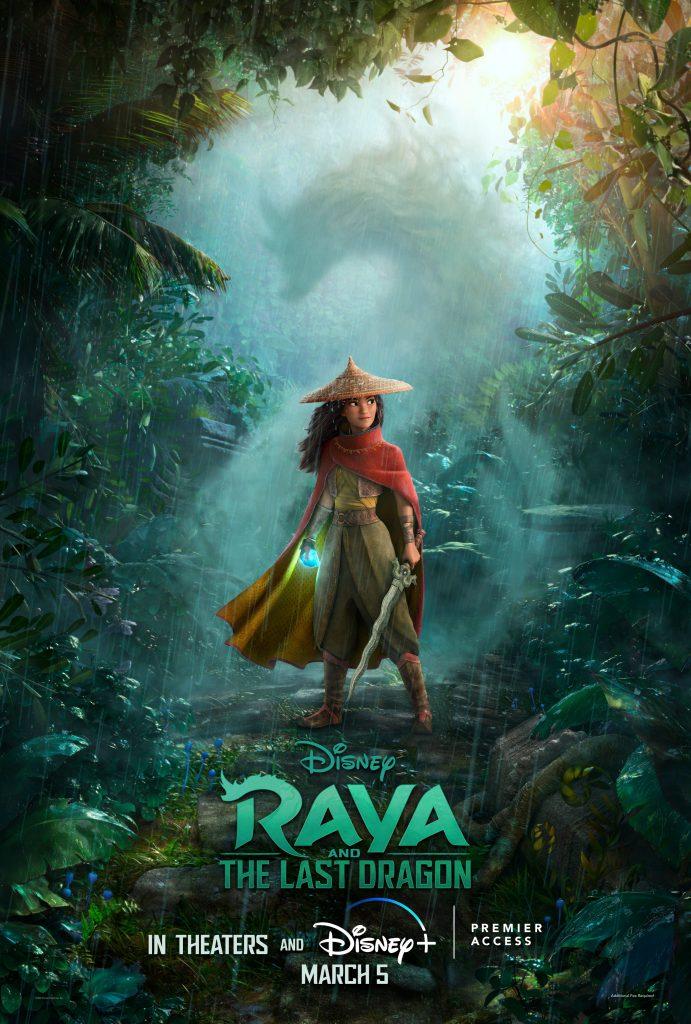 Raya e O Último Dragão chegará simultâneo no Disney+ e nos cinemas