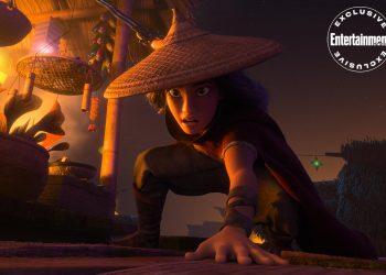 Raya e O Último Dragão | Novas imagens mostram Raya na terra de Talon