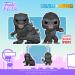 Godzilla vs. Kong ganha edições fofas de Funko POP!