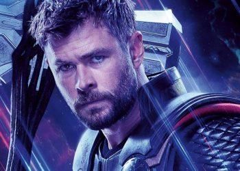 Thor Amor e Trovão Chris Hemsworth